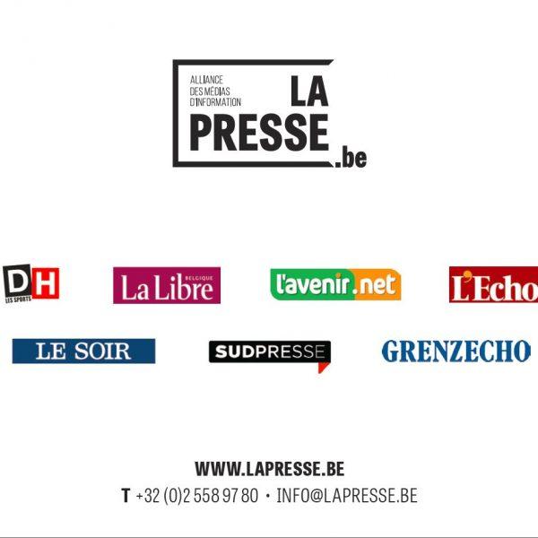 Réélection du président de LAPRESSE.be – Communiqué de presse